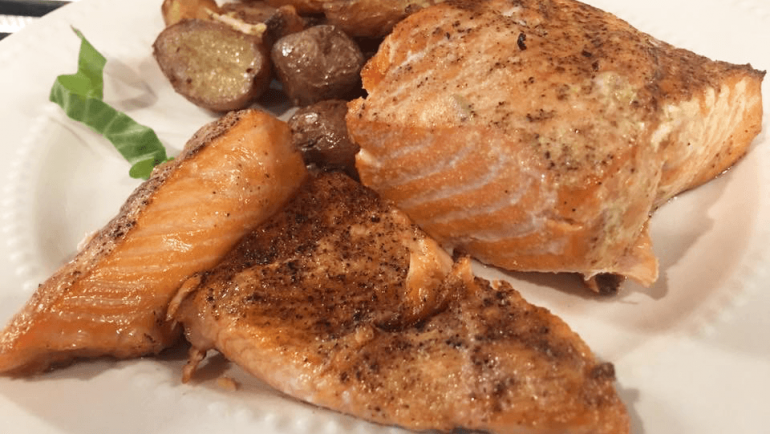 VIP Blackened Grill Salmon