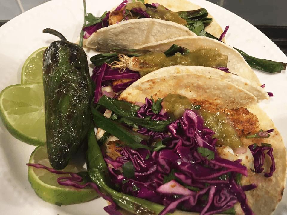 lingcod tacos