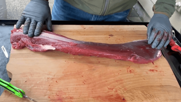 How to use process deer (Part 9) – Trim Back Strap